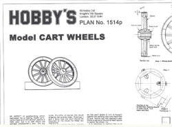 Model-cart-wheels